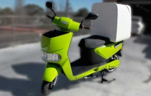 Electric Delivery Scooter