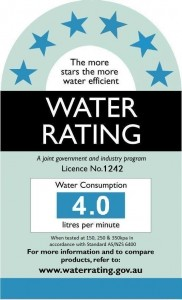 Water Efficiency Label (WELS)
